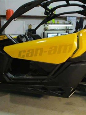 Can-am Maverick X3 Full Skid Plate With Integrated Sliders