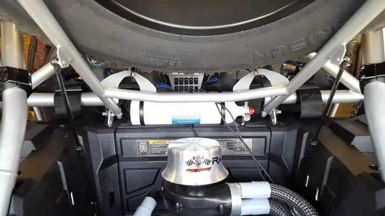 Polaris Rzr Xp Series Spare Tire Carrier