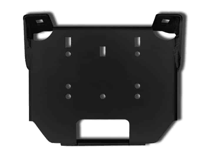 Polaris Rzr Steering Rack Stabilizer Winch Plate Adapter