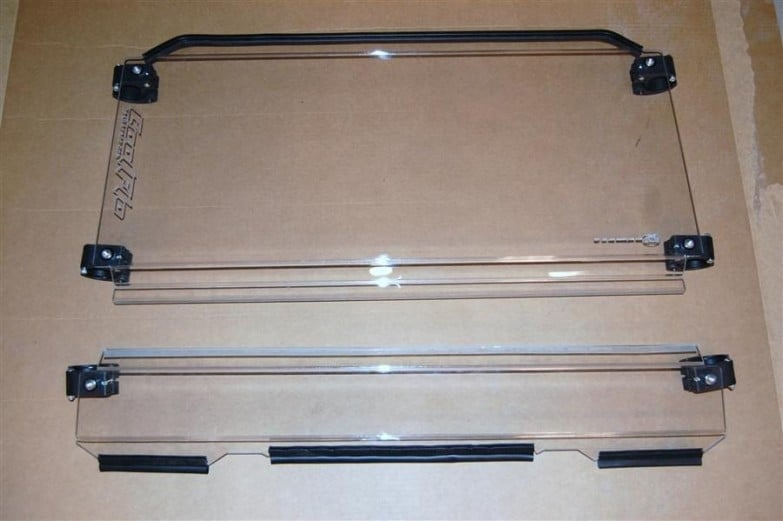 Polaris Rzr Series Models Coolflo Front Windshield