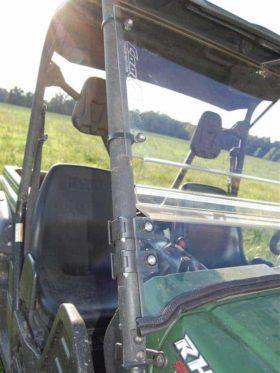 Yamaha Rhino Coolflo Windshield With Fast Clamps
