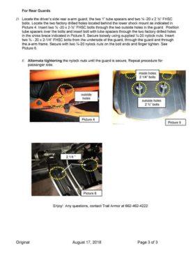 Polaris Ranger Xp 1000 Impact A-arm Guards