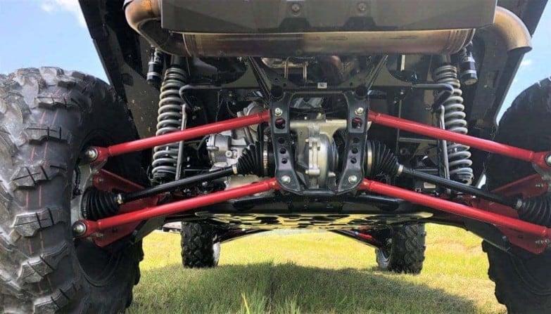 Honda Talon 1000x Impact Trailing Arm Guards