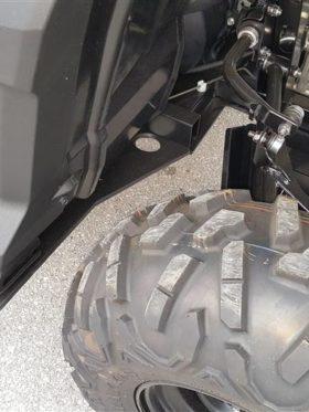 Yamaha Wolverine Full Skid Plate With Rock Sliders
