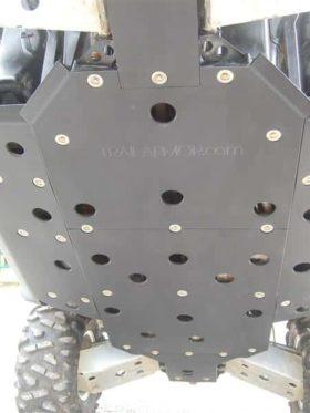 Polaris Rzr 800 Center Skid Plate