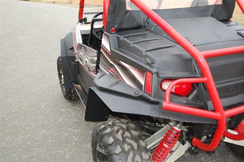 Polaris Rzr 800 Mud Flap Fender Extensions