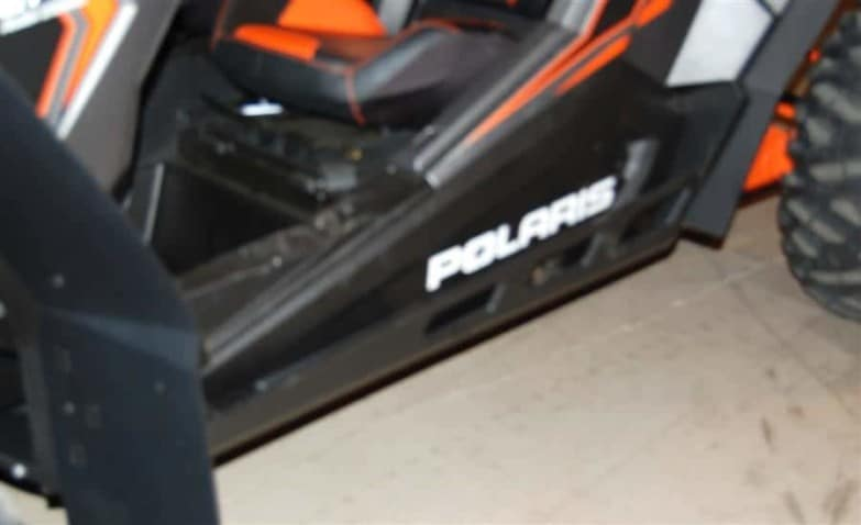 Polaris Rzr Xp Series Full Skid Plate With Rock Sliders