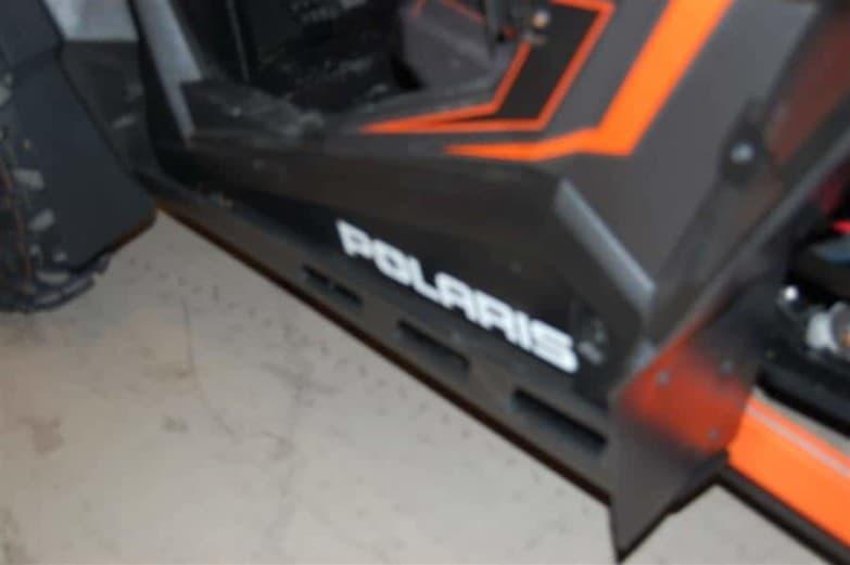 Polaris Rzr Xp Series Full Skid Plate With Rock Sliders