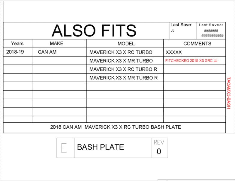 Can-am Maverick X3 Front Bash Plate