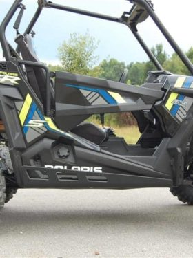 Polaris Rzr 900 Full Skid Plate With Rock Sliders
