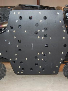 Polaris Ranger Xp Series Full Skid Plate With Sliders