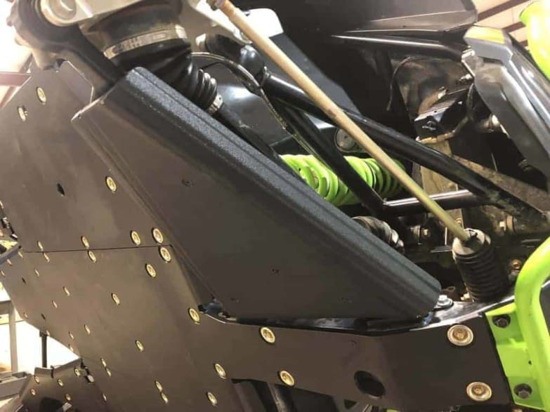 Textron Wildcat Xx Impact Front A-arm Guards