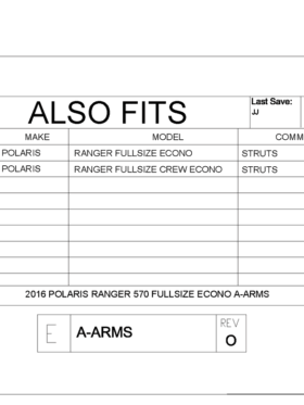 Polaris Ranger 570 Full Size A-arm Guards