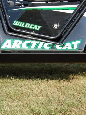 Arctic Cat Wildcat Limited Full Skid Plate With Sliders