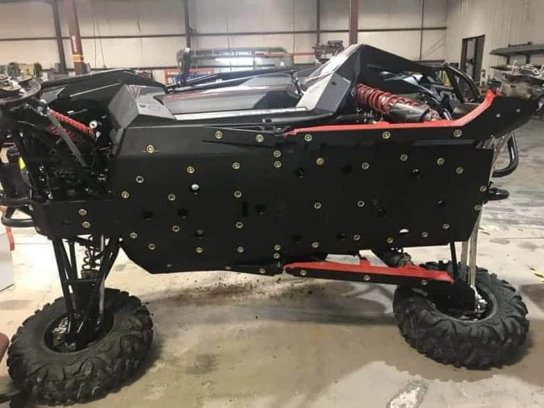 Polaris Rzr Rs1 Skid Plate, Full Protection
