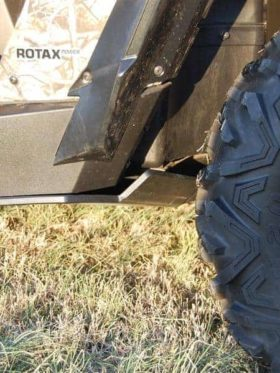 Can-am Commander Max Full Skid Plate With Integrated Sliders