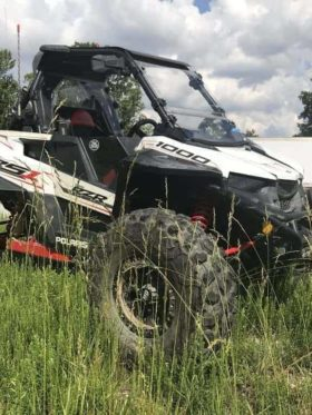 Polaris Rzr Rs1 Front Windshield, Coolflo Edition