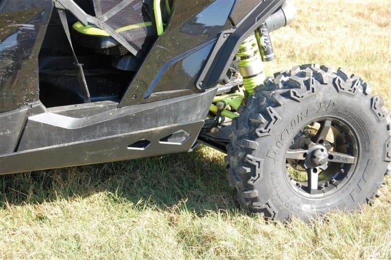 Can-am Maverick Max Full Skid Plate With Integrated Sliders