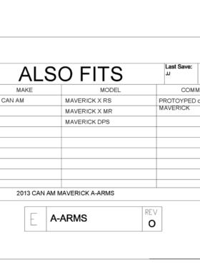 Can-am Maverick Impact A-arm Guards
