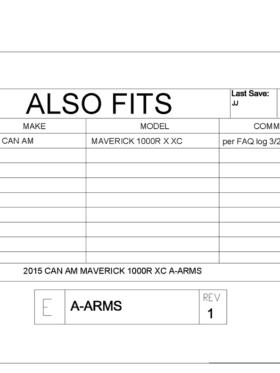 Can-am Maverick Xc Impact A-arm Guards