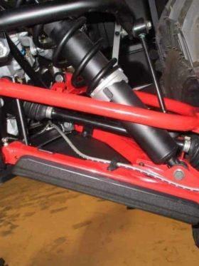 Polaris Rzr 570 Impact A-arm Cv Front & Rear Boot Guards