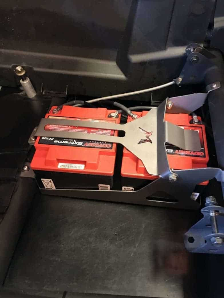 Can-am Maverick X3 Dual Battery Box
