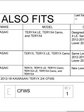 Kawasaki Teryx Le Teryx Camo Teryx Teryx Teryx Le Teryx Camo Coolflo Windshield With Fast Clamps