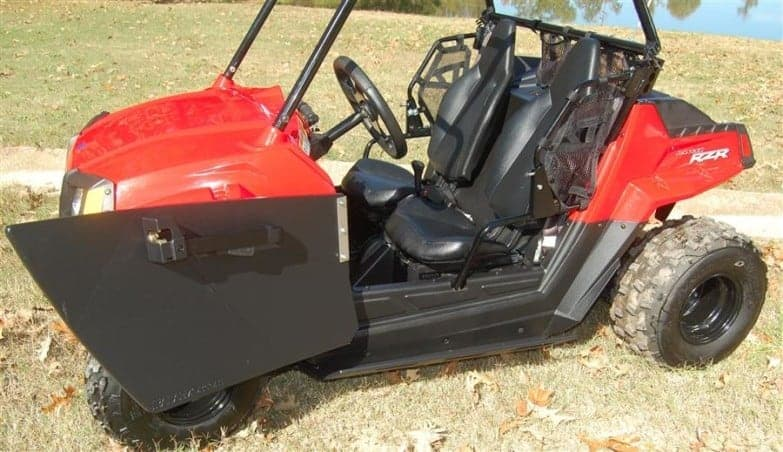 Polaris Rzr 170 Doors And Style Debris And Mud Shields