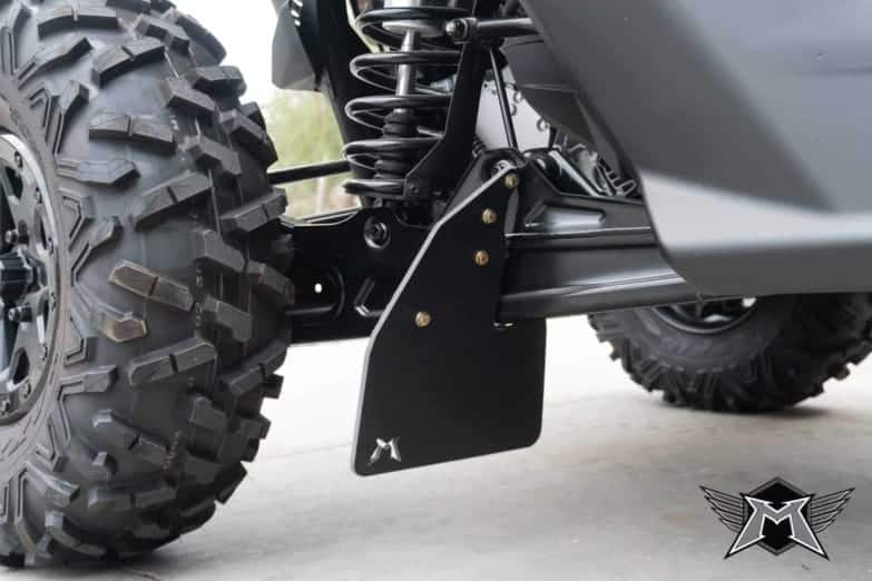 Can-am Maverick X3 Rear Mud Flap Kit