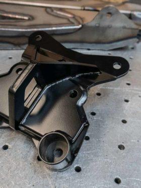 Can-am Maverick X3 Radius Rod Plate, Pull Hook