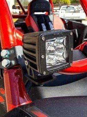 Yamaha Yxz Pillar Light Mounts