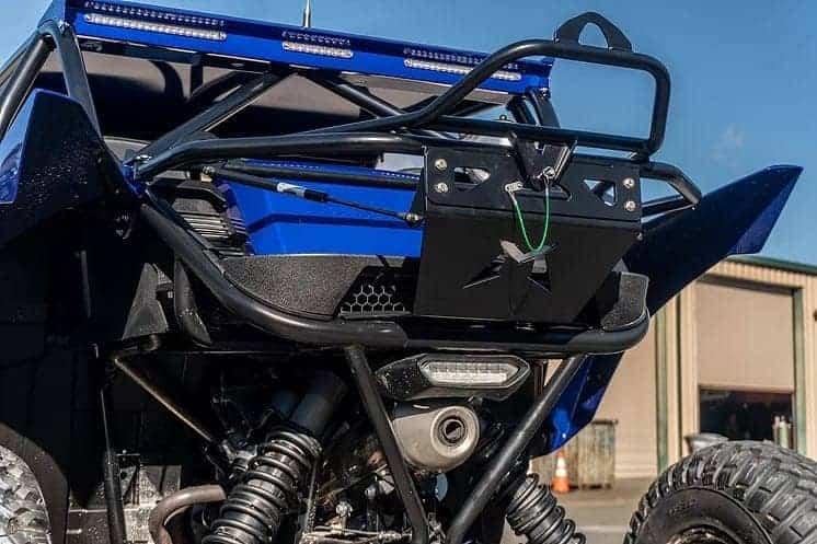 Yamaha Yxz Spare Tire Carrier