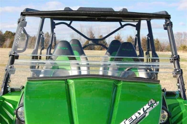 Trail Armor Kawasaki Coolflo Windshield With Fast Clamps Copy