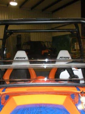 Polaris Rzr Coolflo Windshield With Fast Clamps