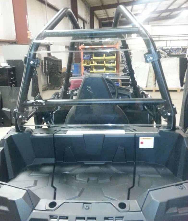 Polaris Ace 900 Rear Window Dust Shield