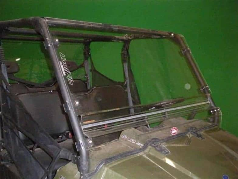 Polaris Ranger Front Windshield, Coolflo Edition