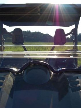 Yamaha Rhino Coolflo Windshield With Fast Clamps