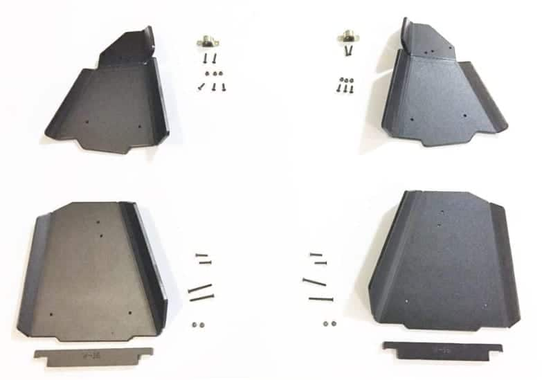 Yamaha Wolverine Impact A-arm Front & Rear Boot Guards