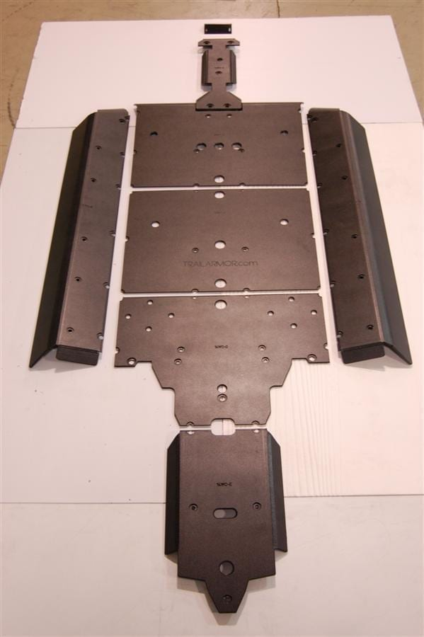 Arctic Cat Wildcat Full Skid Plate With Slider Nerfs