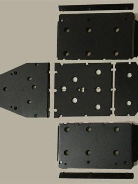 Polaris Ranger 570 Full Size Skid Plates With Sliders