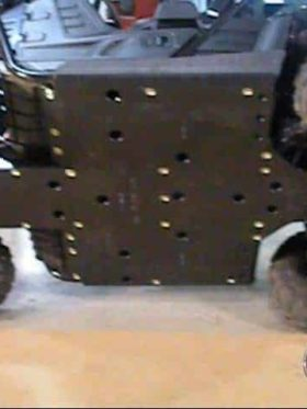 Yamaha Rhino Full Skid Plates With Slider Nerfs