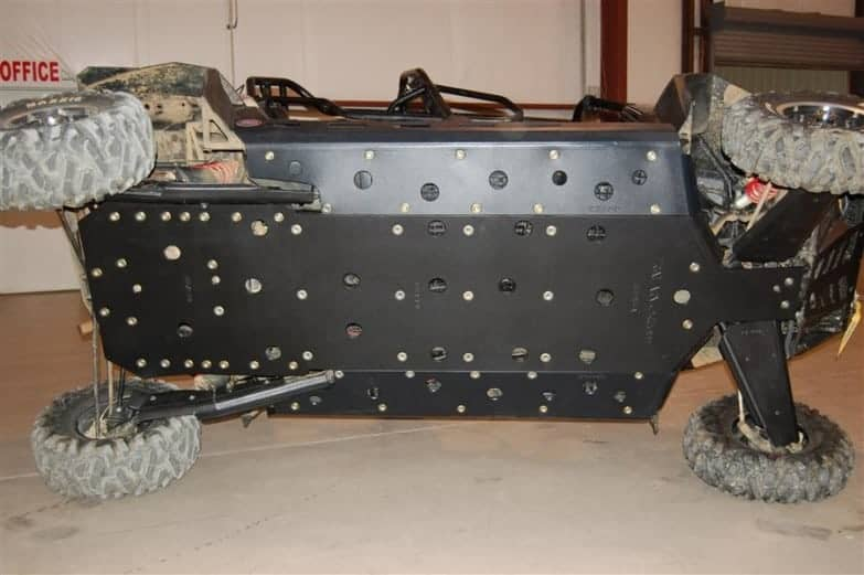 Polaris Rzr Xp 4 900 Full Skid Plates With Slider Nerfs