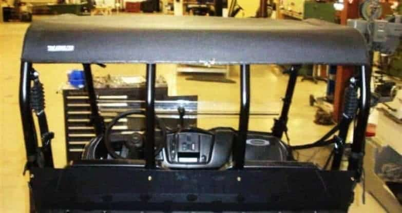 Polaris Ranger 400 And 500 Midsize Soft Top Roof