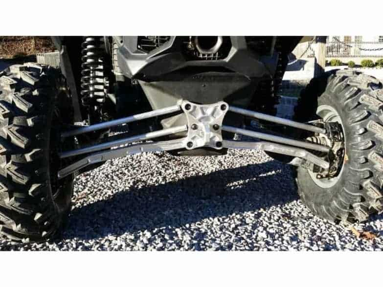 Maverick X High Clearance Worx Series Billet Radius Rod Kit