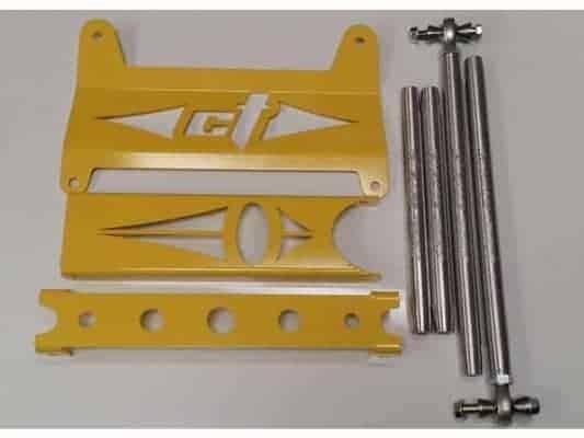 Maverick Gusset Kit Replacement Tie Rod And Radius Rod Combo Kit