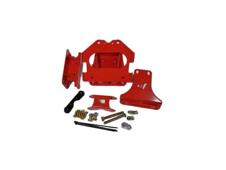 Maverick X Bombproof Gusset Kit Can Am Red