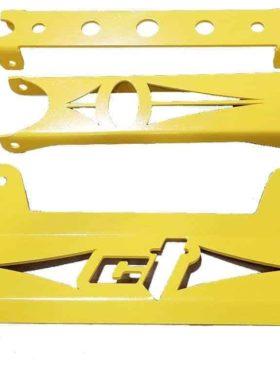Maverick Piece Front Gusset Kit Yellow