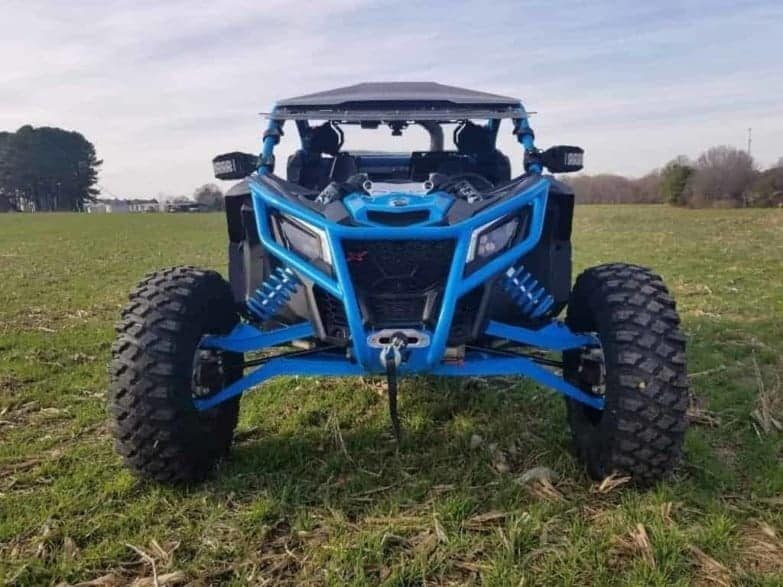 Maverick X Monster Winch Bumper