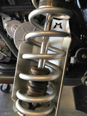 Polaris Rzr Xp Turbo S Rear Shock Guards