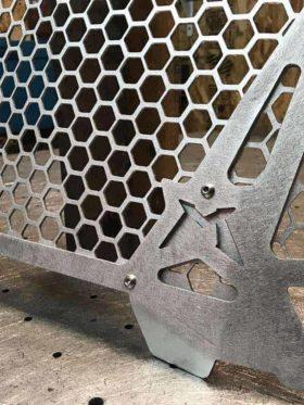 Polaris Rzr Xp Series 2 Piece Clip-in Grill